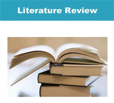 Briefly explain literature review is conducted